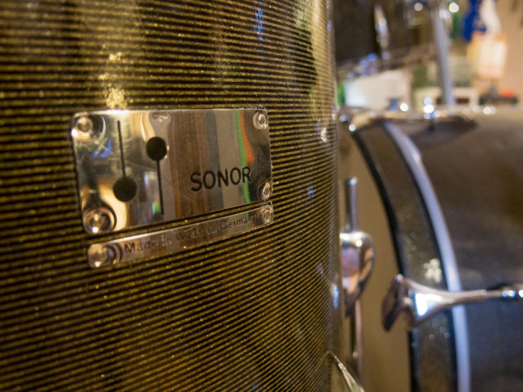 1963/64 Sonor Teardrop Drum Kit Chicago Star – Sabi Sound