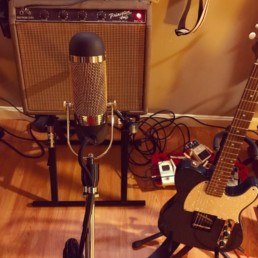 1961 Fender Princeton recorded with the AEA R84A ribbon mic